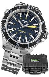 Traser P67 SUPER-SUB 500 METER T100 TRITIUM PROFESSIONAL DIVE WATCH, SPECIAL SET 109370