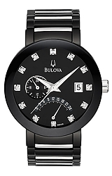 Bulova Pilot's RetroGrade Flyback Diamond Watch