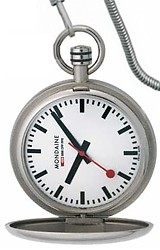 Mondaine Official Swiss Railway Savonette Pocket Watch