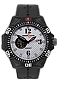 ArmourLite Automatic 24 Jewel Tritium Watches, Caliber Series White Dial with Black Numerals, Rubber Dive Strap