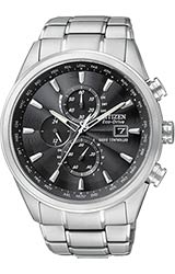 Citizen World Chronograph A-T Stainless Steel Bracelet (AT8010-58E)
