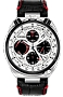 Citizen Promaster TSUNO Chronograph Racer Silver Dial Setting Crowm an chrono button on top, Leather Strap with Deployment