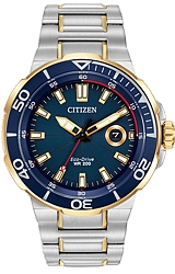 Citizen Endeavor Eco-Drive Collection of Ocean Sport Watches