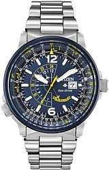 Citizen Promaster Nighthawk Eco-Drive Pilot's Watch, Blue Angels Edition