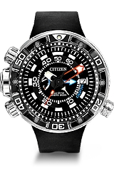 Citizen Promaster Aqualand Depth Meter Dive Watch