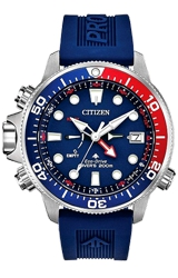Citizen Promaster Aqualand Eco-Drive Dive Watch with Depth Gauge