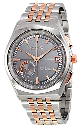 Citizen Mens Eco-Drive Satellite Wave Watches, Classic Dress Styling