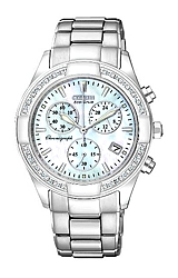 Citizen Ladies Regent Diamond Chronograph Watches