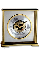 Chass Aviator World Time Mantle Clock