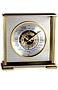 Chass Aviator World Time Mantle Clock Quartz Battery Operated Clock, 11 inches by 9 inches by 4 inches,Brass & Silvertone Finish