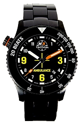 H3 Tactical Emergency Medical Technician EMT Color Tritium Watch