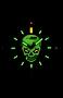 Glowing Skull Design