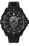 ArmourLite IsoBright Enforcer II Limited Edition T100 Tritium and Luminescent Watch Photoluminescent Glowing Skull Dial, Rubber Dive Strap