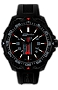 ArmourLite IsoBright Thin Red Line T100 Tritium Watch Firemen/Rescue Watch, Highest Military Grade, Sapphire Crystal, Three Watchbands