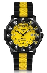 Traser Color Sport Dive Watch with Color Tritium