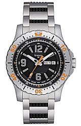 Traser Extreme Sport Black Dial, Stainless Steel Bracelet (P6602.R5F.0S.01)