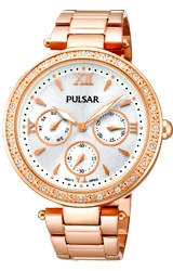 Pulsar Ladies 'Night Out' Swarovski Crystal Large Fashion Watches