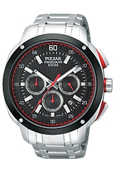 Pulsar 100 Meter Chronograph Watch