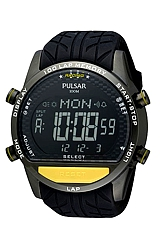 Pulsar Racing GMT Chronograph with 100 Lap Memory