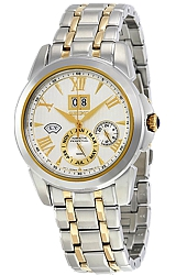 Seiko Le Grand Sport Kinetic Perpetual Calendar Watches Two-tone Steel Case and Bracelet (SNP066)
