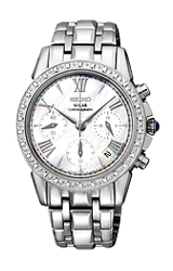 Seiko Ladies LeGrand Sport Solar Diamond Watch