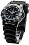 Smith & Wesson Hunting & Fishing Sport Watch with Tritium & LumiBright NEW 2021 MODEL, 200 Meter WR, Black Dial, Rubber Dive Strap