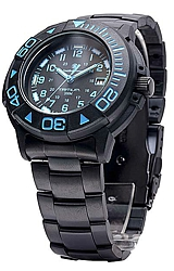 Smith & Wesson Diver - 900 Series - Tritium Illuminated and Bonus Watchband Blue Numerals (SWW-900-BLU)