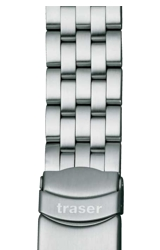 Traser Genuine Traser Watchbands and Straps Stainless Steel (solid) for the Traser Classic Series (T13)