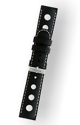 Traser Genuine Traser Watchbands and Straps Stitched Silicone Strap 22mm for Master and Jungmann Aviator Series (T34)