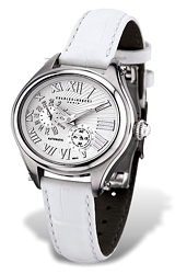 Charles-Hubert Paris Women's 21 Jewel Automatic Watch with 24 Hour Subdial