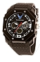 Wrist Armor US Air Force Digital Analog Multi-function Watch with Black Silicone Strap XWA4588 Lighted Dial, ZULU or Dual Time Chronograph