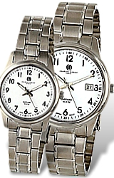 Charles-Hubert Paris Classic White Dial, Titanium Watches