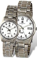 Charles-Hubert Paris Classic White Dial, Titanium Watches