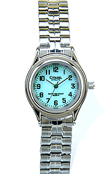 Citadel NiteLite Backlight Watches WOMEN'S WATCH<br>Silvertone & Steel Case with a Stainless Steel Expansion Bracelet (XWA5057)