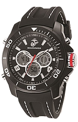 Wrist Armor U.S. Military Dual Time Digital-Analog Chronograph