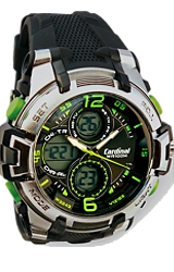 Cardinal Digital- Analog ZULU Time Super Watch