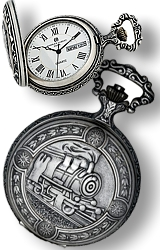 Charles-Hubert Paris All New Recreation of the Classic Railroad Pocket Watch